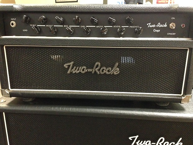 Two Rock Onyx 2005 Black 100 Watt Krinard Made Other Amps In Stock Now Big Bad Boy