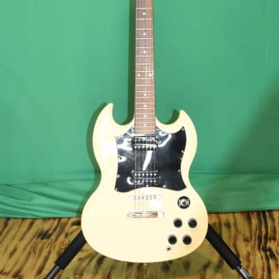Epiphone SG White Electric Guitar G-310 for sale