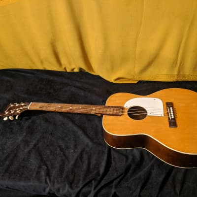 Airline Acoustic Guitar 1960's - 70's Vintage Toneful Slide Guitar for sale