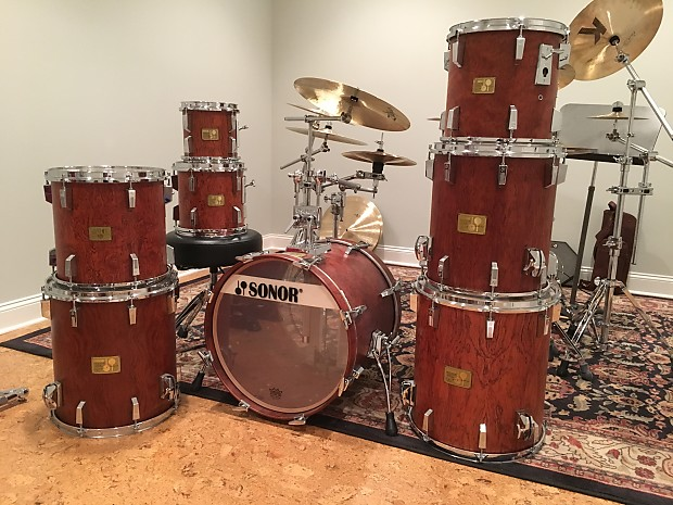 38596f50a986 Sonor Signature Heavy Bubinga 8-piece kit