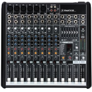 Mackie ProFX12 12-Channel Effects Mixer