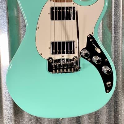 G&L USA Fullerton Deluxe Skyhawk Surf Green Guitar & Case 2019 #1178 for sale