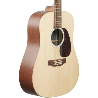 Martin D-X2E Sit/MahHPL 12 String Acoustic Electric Guitar w/Gig Bag