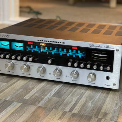 Vintage Marantz Model 2275 AM/FM Stereo Receiver ~FULLY SERVICED + LED UPGRADE~ ORIG OWNER LOOK !