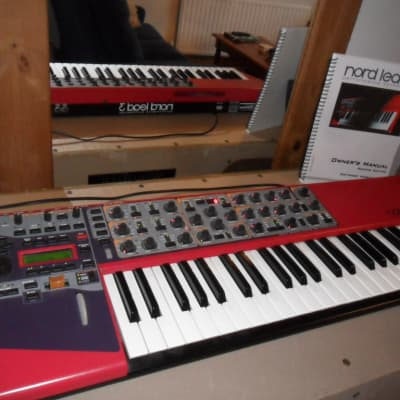 Nord Lead 3 performance synth+ manual + f/case