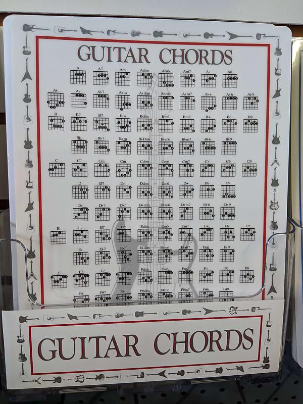 Walrus Productions Guitar Chord Chart Reverb