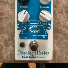EarthQuaker Devices Dispatch Master  2017 White / Blue