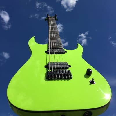 2020 Schecter Schecter Diamond Series  Keith Merrow KM-7 Mk-III Hybrid Prototype Lambo Green for sale