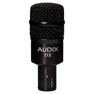 Audix D2 Hypercardioid Dynamic Drum / Instrument Microphone