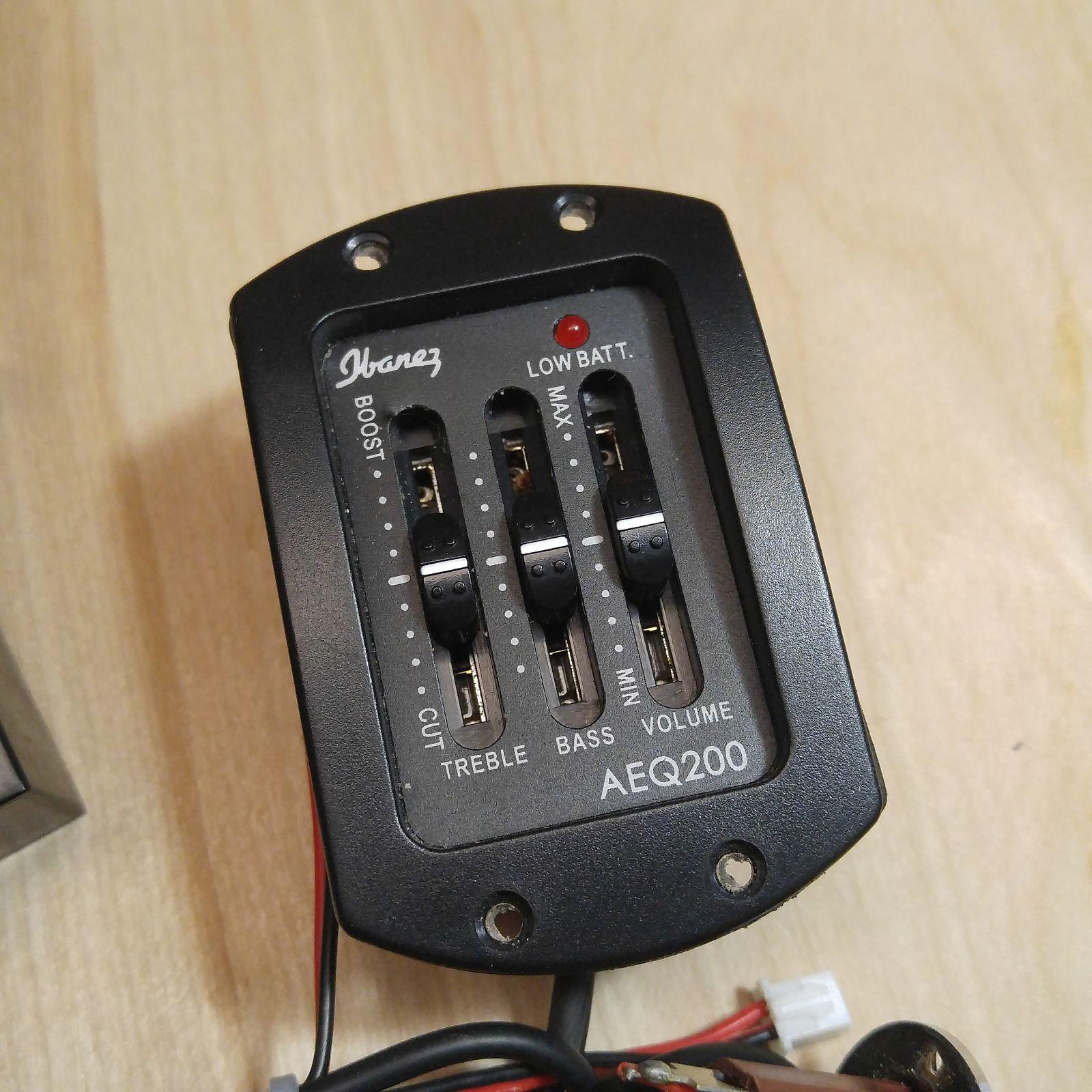 Surprising Ibanez Aeq200 Active Acoustic Preamp W Battery Box Piezo Wiring Cloud Usnesfoxcilixyz