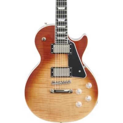Epiphone Les Paul Modern Figured Electric Guitar, Caffe Latte Fade