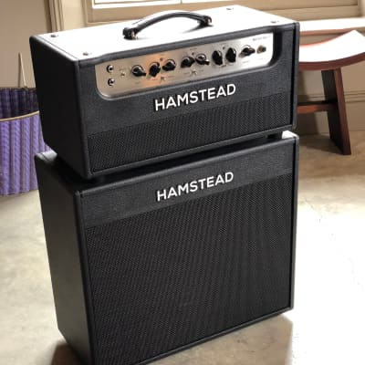 Hamstead Artist 60RT head and 1 x 12 cab 2018 black for sale