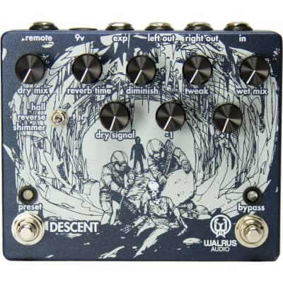 Walrus Audio Descent Reverb / Octave Machine for sale