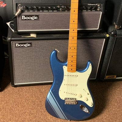 Fender  FSR Traditional 50's Stratocaster with stripe and gig bag. Free Shipping for sale