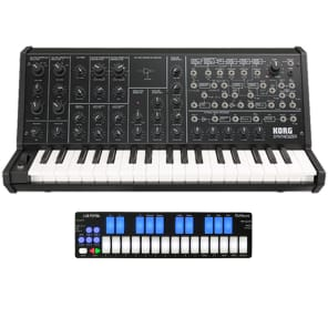 Korg MS-20 Mini Analog Synth Keyboard + Keith McMillen QuNexus Combo