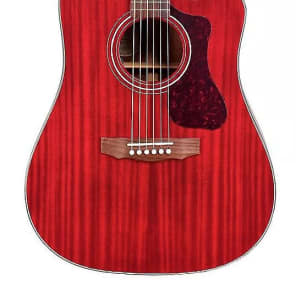 Guild Westerly Collection D-120CE Acoustic-Electric Cherry
