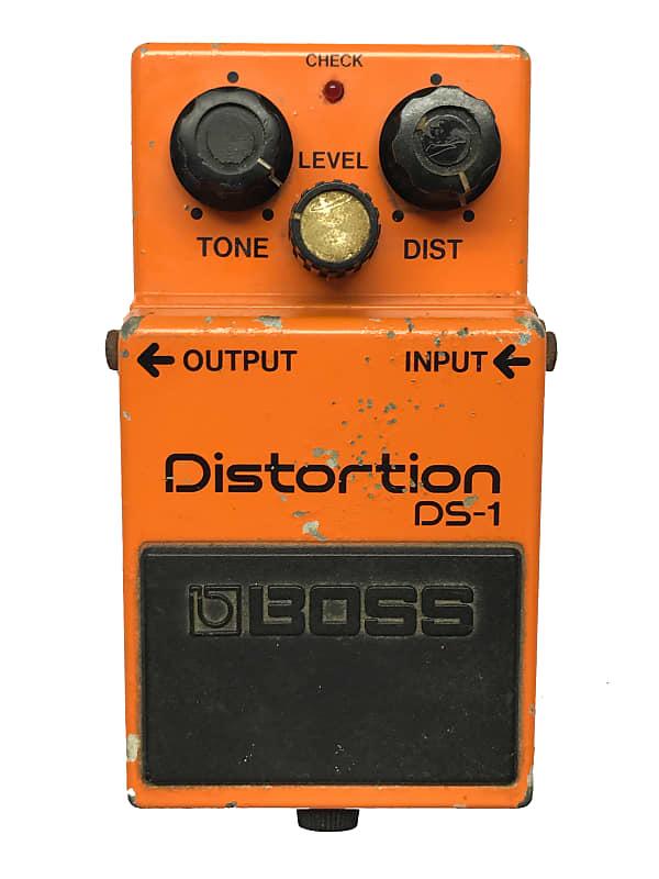 boss ds 1 distortion made in japan 1983 vintage guitar reverb. Black Bedroom Furniture Sets. Home Design Ideas
