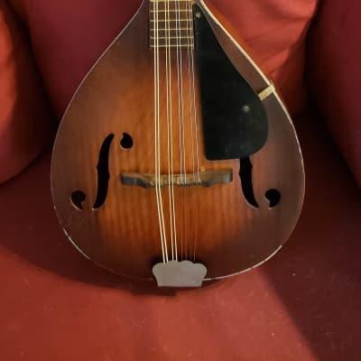 Vintage Unmarked Mandolin Model S-30 Stradolin? for sale