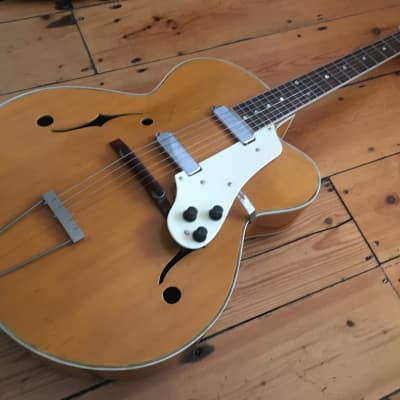 1950s Col Joye Big Body Archtop Electro Acoustic Guitar for sale
