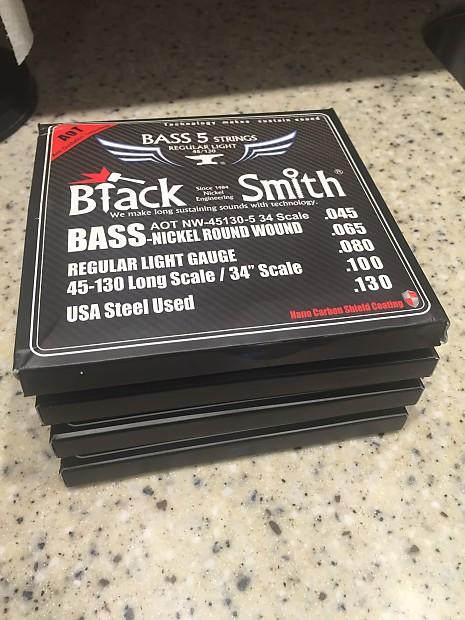 21b03b3f4b23 BLACK FRIDAY SALE! - 4 Sets Of 45-130 5-String BlackSmith