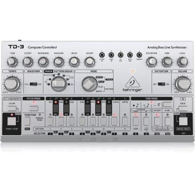Behringer TD-3-SR Analog Bass Line Synthesizer with 16-Step Sequencer (B-STOCK)