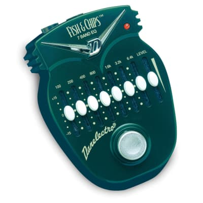Danelectro DJ-14 Fish and Chips 7 Band EQ Pedal Effect for sale