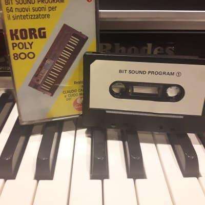 Korg Poly-800 Cassette Tape