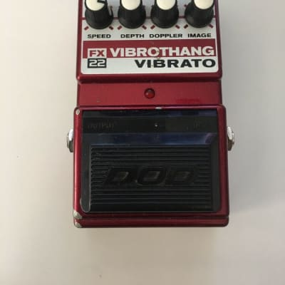 DOD Digitech FX22 Vibro Thang V3 Tremolo Phaser Rare Vintage Guitar Effect Pedal for sale