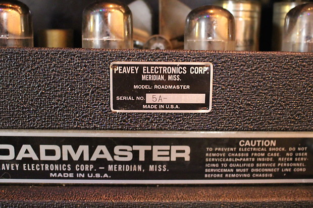 70's Peavey Roadmaster w/oversized 4x12 cab | Major • Minor