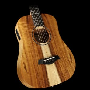 Taylor BTe-Koa Limited Edition Baby Taylor Acoustic/Electric Guitar Natural