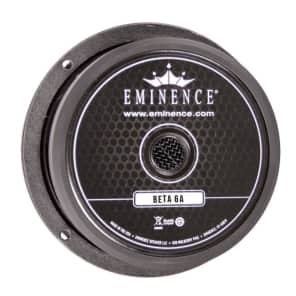 "Eminence Beta-6A 6.5"" 350-Watt 8 Ohm Replacement Speaker"
