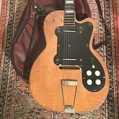 LOWEST ACTION!! VINTAGE EARLY 50`s KAY ORPEHUM BRAND JIMMY REED THIN TWIN GUITAR for sale