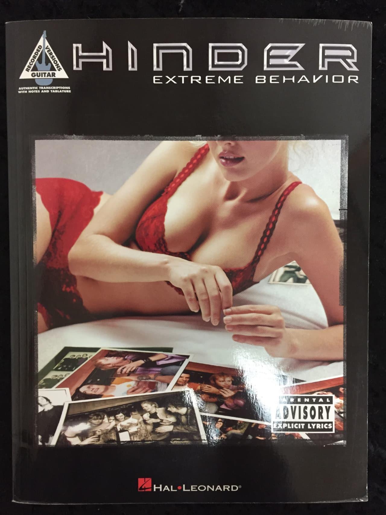 Hinder extreme behavior songs