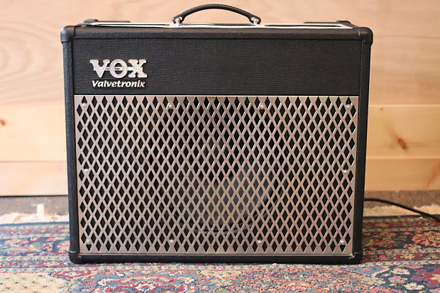 vox valvetronix ad50vt 1x12 combo amp black reverb. Black Bedroom Furniture Sets. Home Design Ideas