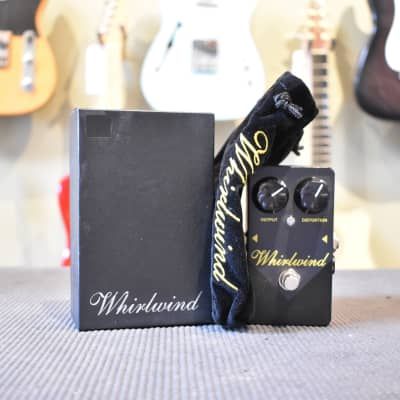 Whirlwind Rochester Gold Box Distortion Electric Guitar Effects Pedal for sale