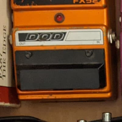 DOD Classic Fuzz FX52 Pedal for sale