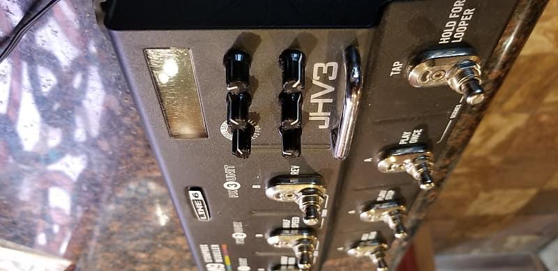 line 6 m9 w dual exp upgraded switches reverb. Black Bedroom Furniture Sets. Home Design Ideas