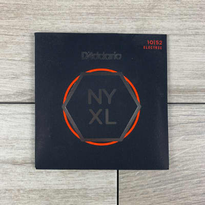D'Addario NYXL Nickel Wound Electric Guitar Strings, 10-52, Light Top/Heavy Bottom
