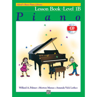 Alfred's Basic Piano Library: Lesson Book - Level 1B