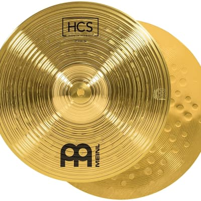 """Meinl HCS1314+10s HCS Three for Free Box Set 13/14/10"""" Cymbal Pack with Sticks, Lessons"""
