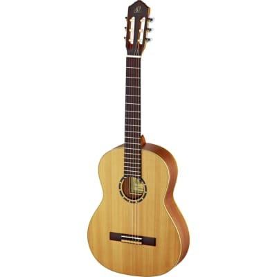 Ortega Family Series Pro R131L Left-Handed Classical Guitar with Gig Bag for sale