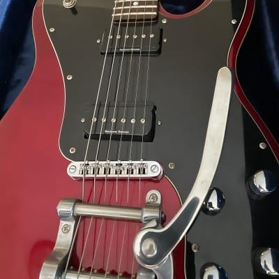 Schecter PT Fastback II B w/ Bigsby Tremolo Metallic Red w/ Rosewood Fretboard & Seymour Duncan P-Rails ! for sale