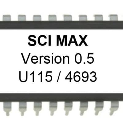 Sci Sequential Circuits MAX EPROM OS ver 5 MIDI BUG FIXED Update Upgrade
