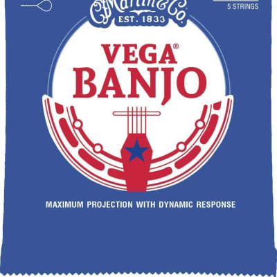 Martin V730 Vega Banjo Strings - Medium