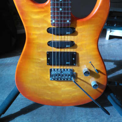 Palmer Deluxe Supreme SSH electric guitar 1990s rare TMG noiseless pickups for sale