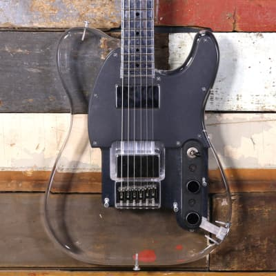 Electrical Guitar Company TT1 Clear Luccite EGC for sale