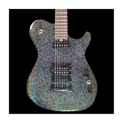 Manson MA-25 Anniversary Edition Electric Guitar in Night Sky Holosparkle, Pre-Owned for sale