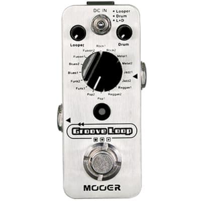 Mooer Groove Loop pédale d'effet looper et boîte à rythmes for sale