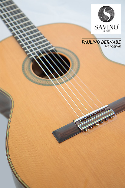 paulino bernabe modele m5 guitare classique