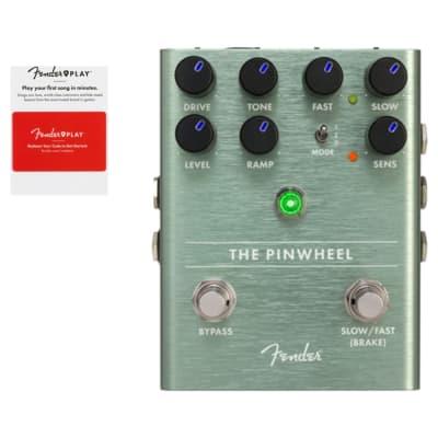 Fender The Pinwheel Rotary Speaker Emulator Effects Pedal w/ Fender Play Card